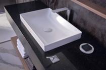 "TOTO Kiwami Renesse 23-5/8"" Rectangular Ceramic Vessel Bathroom Sink with Overflow"