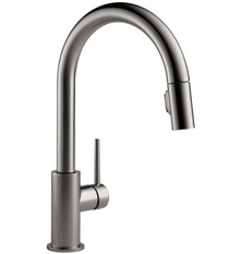 Delta Trinsic 1.8 GPM Single Hole Pull Down Kitchen Faucet