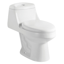 Crown Duo Single One Piece Flush Toilet   * HOT DEAL! *
