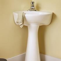 "Cornice Pedestal Sink 15"""