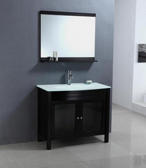 Juno 30 inch Espresso color Bathroom Vanity