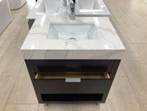 """SLS 30"""" Espresso Bathroom Vanity"""