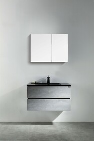 "Edison 30"" Wall Mount Bathroom Vanity"