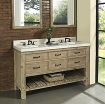 Napa 60″ Double Bathroom Vanity