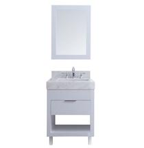 SLS 30 inch White Bathroom Vanity