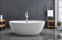"Royal Lighthouse  59"" Soaker Freestanding  Bath Tub"