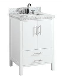 "Ultra 30"" White Bathroom Vanity"