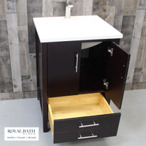 "Ultra 36"" Espresso Bathroom Vanity"