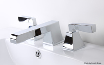 cavalli Toro Widespread Lavatory Faucet in Chrome