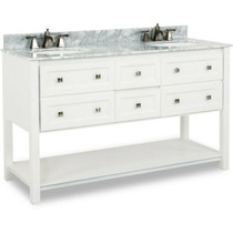 "INSANE BUY !!!! Island 72"" White Double Sink Bath Room Vanity"