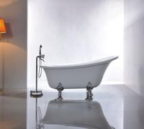 """Dixie 59"""" Claw foot Freestanding Bath Tub"""