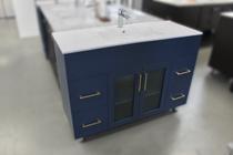 Royal Jane 48 inch Navy Blue Bathroom Vanity