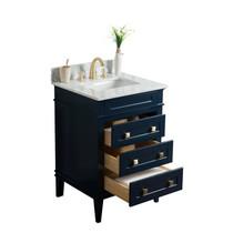 Royal Ibis 24 inch  Navy Blue Bathroom Vanity