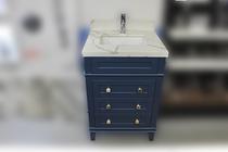 """Ibis 30"""" Navy Blue Bathroom Vanity"""