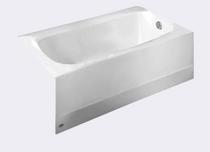 American Standard: Cambridge 60 Inch by 32 Inch Integral Apron Bathtub