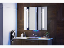 "Kohler Verdera® voice lighted mirror with Amazon Alexa, 34"" W x 33"" H"
