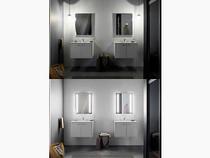 """Kohler Verdera® lighted mirror, 34"""" W x 33"""" H"""