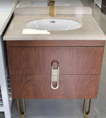 Reynolds 30 Inch Bathroom Vanity * Italian Designer Collection