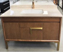 Lucas Design 48 Inch Bathroom Vanity Italian Collection