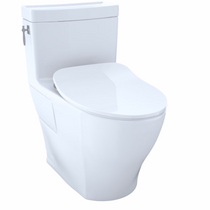 Toto AIMES® ONE-PIECE TOILET, 1.28GPF, ELONGATED BOWL - WASHLET®+ CONNECTION - SLIM SEAT