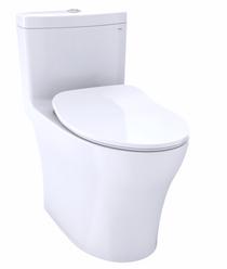 Toto AQUIA® IV ONE-PIECE TOILET - 1.0 GPF & 0.8 GPF, ELONGATED BOWL - WASHLET+ CONNECTION - SLIM SEAT
