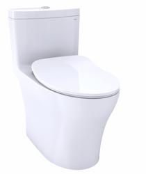 Toto AQUIA® IV ONE-PIECE TOILET - 1.28 GPF & 0.8 GPF, ELONGATED BOWL - WASHLET+ CONNECTION - SLIM SEAT
