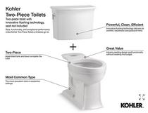 Kohler Archer® Comfort Height® in White