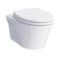 Toto AP WALL-HUNG DUAL-FLUSH TOILET, 1.28 GPF & 0.9 GPF WITH DUOFIT® IN-WALL TANK UNIT WH White