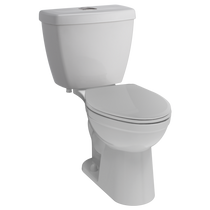 Delta Foundations Dual Flush Elongated Toilet in White
