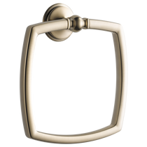 Brizo CHARLOTTE® Towel Ring in Brushed Nickel