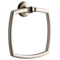 Brizo CHARLOTTE® Towel Ring in Polished Nickel