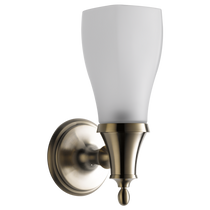 Brizo CHARLOTTE® Light - Single Sconce in Brushed Nickel