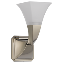 Brizo VIRAGE® Light - Single Sconce in Polished Nickel