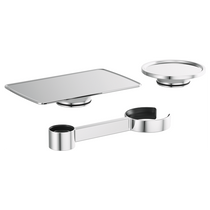 Brizo KINTSU™ Freestanding Tub Filler Accessory Kit in Chrome