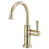 Brizo ARTESSO® Instant Hot Faucet with Arc Spout in Polished Nickel