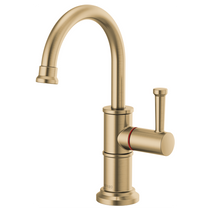 Brizo ARTESSO® Instant Hot Faucet with Arc Spout in Luxe Gold