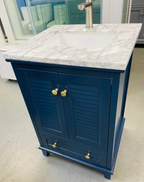 Keyes 24 inch Navy BlueBathroom Vanity