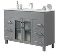 Jane 48 inch Grey Bathroom Vanity