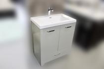 """Venus 30"""" Grey  Bathroom Vanity with Top"""
