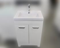 """Venus 30"""" White  Bathroom Vanity with Top"""