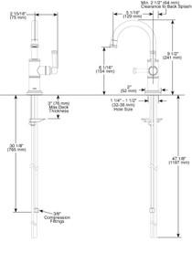 Brizo ARTESSO® Beverage Faucet in Polished Nickel