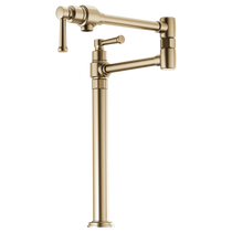 Brizo ARTESSO® Deck Mount Pot Filler Faucet in Luxe Gold