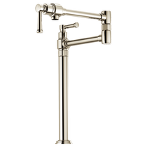 Brizo ARTESSO® Deck Mount Pot Filler Faucet in Polished Nickel