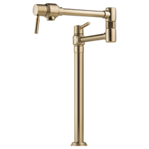 Brizo EURO Deck Mount Pot Filler Faucet in Luxe Gold