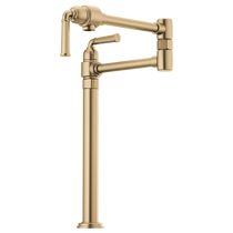 Brizo ROOK® Deck Mount Pot Filler in Luxe Gold