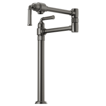 Brizo ROOK® Deck Mount Pot Filler in Luxe Steel