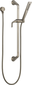 Brizo SOTRIA® SLIDE BAR HANDSHOWER WITH H2OKINETIC® TECHNOLOGY in Luxe Nickel