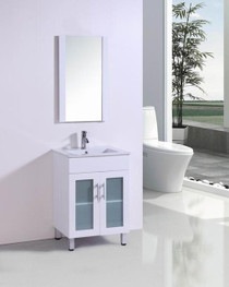 Jane 30 Inch Bathroom Vanity in White