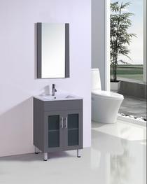 Jane 30 inch Bathroom Vanity in Gray