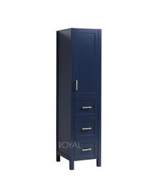 "York Linen Tower 18.5""  Navy Blue Cabinet"